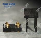 2p type plat connecteur à broches De Pogo avec renfermer pour le SMT
