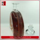 Bouteille de vin sensible de bouteille de verre cristal 750ml