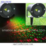 Outdoor LED Green Star Red Jardim Christmas Lights Laser Show