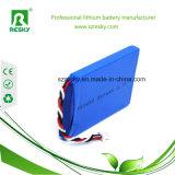 De goede Batterij Lipo van Prestaties 3.7V 2800mAh voor ZonneSchemerlamp