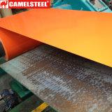 Цвет покрасил гальванизированные стальные катушки для Corrugated листа толя