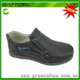 Usine de chaussure chinoise de garçon de Flatkids (GS-LF75296)