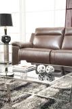 Muebles de desplazamiento de cuero del sofá