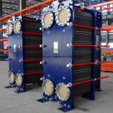 De Warmtewisselaar van het frame en van de Plaat Gasketed Voor Airconditioning, het Vloeibare Koelen