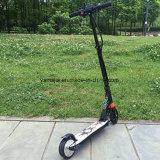 Vespa eléctrica más ligera plegable del adolescente de la fibra del carbón del motor del eje de rueda 2
