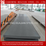 Schwarze Farben-Fluss-Stahl-Checkered Platten des Q235B Materials