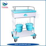 Produtos do hospital que nutrem o carro médico com cesta
