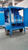 Tipo mobile azienda di trasformazione dell'olio del trasformatore/tipo purificatore del rimorchio di olio/impianto di lavorazione olio residuo del trasformatore