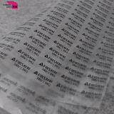 Projeto personalizado multi cor da etiqueta da transferência térmica da impressão da tela