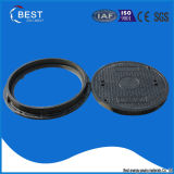 En124 tampa de câmara de visita redonda composta do material SMC/BMC feita em China