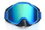 Óculos de proteção espelhados da equitação do motocross do impato da tendência forma nova anti