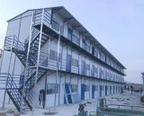 Casa pré-fabricada Prefab do preço barato de três histórias