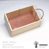 Cadre en bois fait sur commande de Hongdao avec le _D acrylique de couvercle