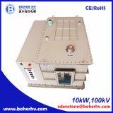 Fonte de alimentação de alta tensão 10kW do soldador do feixe de elétron 100kV EB-380-10kW-100kV-F30A-B2kV