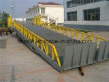 Tipo strascicato rampe di caricamento portatili del camion idraulico registrabile per il carrello elevatore