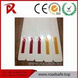 Delineator reflexivo dos Delineators da estrada do PVC do borne do Delineator com etiqueta reflexiva ou o painel reflexivo