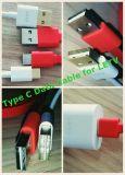 No direccional del varón USB2.0 para pulsar el cable de datos de C para Le2 Smartphone