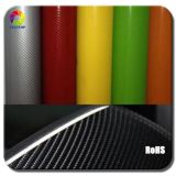 Real eccellente 4D Carbon Fiber Vinyl Car Wrap Film