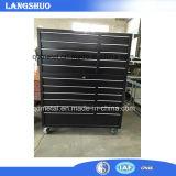 Stahlspeichermetallwerkzeugkasten-Brust/Hilfsmittel-Schrank mit Rädern