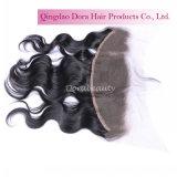 Venta al por mayor frontal del cordón barato de la fábrica del pelo