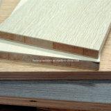 Wordrobe를 위한 나무로 되는 곡물 색깔 멜라민 Blockboard