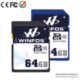 Winfos 64GB Class 10 High Speed SDHC Card met Real Capacity (w-sdhc-064)