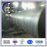 De spiraal Gelaste Pijp van het Staal voor de Productie van de Olie en van het Gas