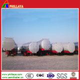 Tri-Eixo 40000 litros de reboque inoxidável do tanque de aço