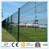 방호벽 또는 용접된 철망판 담