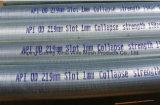 철사에 의하여 감싸이는 스크린/V 철사 필터 원자/실린더 스크린