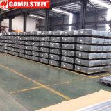 Hojas de acero acanaladas galvanizadas cubiertas color del material para techos de PPGI