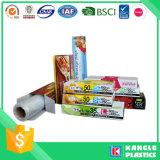 Пластичные мешки еды на крене для супермаркета