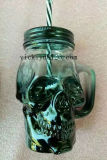 vaso di vetro di scheletro 330ml per la bevanda, latte