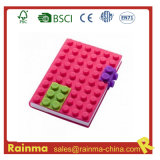 Silicone Blocks Cover Notebook per School Stationery