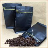 Sacchetto di caffè personalizzato della parte inferiore del quadrato del caffè di stampa di incisione fatto in Cina