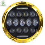 7 linterna de la pulgada 75W LED para el jeep