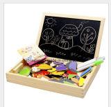 Brinquedo de madeira DIY do enigma para miúdos