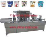 Máquina de enchimento da selagem do copo dos flocos de milho