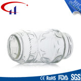 récipient d'entreposage en verre qualifié grande par capacité de la nourriture 1000ml (CHJ8119)