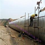 中国の製品の波形の管の排水渠