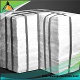 Modules blancs de fibre en céramique de la température 1260c de travail pour le matériel de chauffage