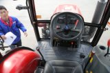 Trator novo chinês da exploração agrícola 55HP 4WD com a cabine para a venda