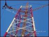 Aço galvanizado a quente do ângulo e torre combinada tubular