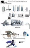 天然水の生産の機械装置をセットしたかだれの