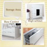 Mobília moderna da cozinha da porta da laca (zz-030)