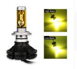 포드 BMW를 위한 1개의 옥수수 속 LED Headlamp 안개등 3000K 6500K 8000K 12V에서 X3 H7 차 LED 헤드라이트 전구 50W 전부
