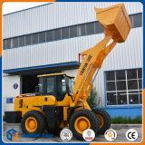 鉱山フィールドのための標準中国3tonの大きい前部車輪のローダー