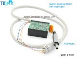 Micromotor eléctrico sin cepillo con el tipo dental óptico de fibra e incorporado de la unidad (E-motor)