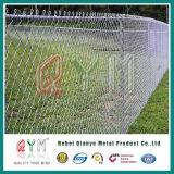 Galvanisierter Kettenüberzogener Kettenlink-Zaun-Preis des link-Fence/PVC/Eisen-Zaun