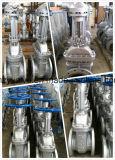 """Запорная заслонка нержавеющей стали Dn100 Class150 литой стали API600 (Z41W-150LB-4 """")"""